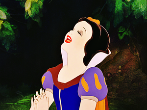 Walt डिज़्नी Screencaps - Princess Snow White