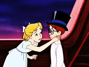 Walt Disney Screencaps - Wendy Darling & John Darling