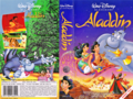 Walt Disney VHS Covers - Aladdin (Danish Version)