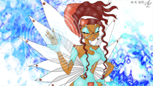 Winx Club Aisha Arcanix Artwork for Musicvideo
