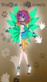 Winx Club   Roxy Arcanix as Farewell gift - the-winx-club fan art
