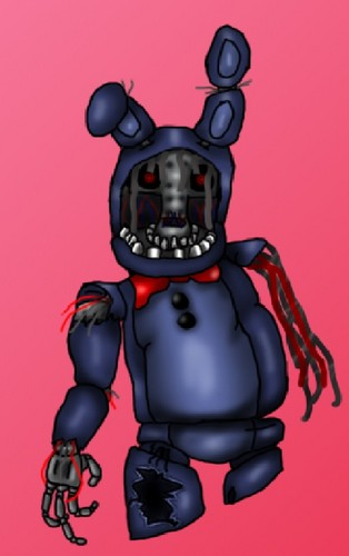 Five Nights at Freddy's (Пять ночей с Фредди) Обои probably containing Аниме titled Withered Bonnie