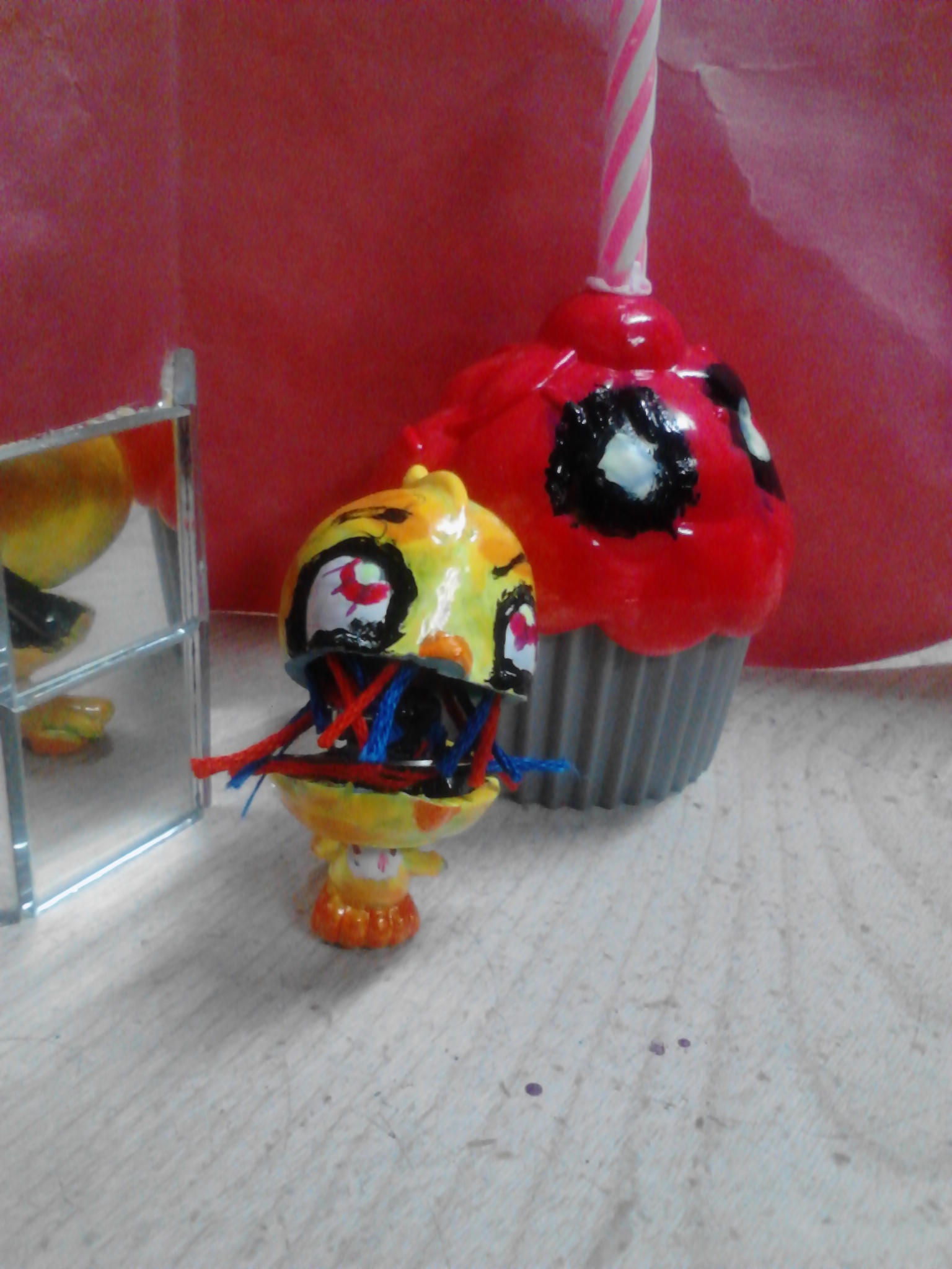 five nights at freddy's imágenes Withered Chica Custom LPS
