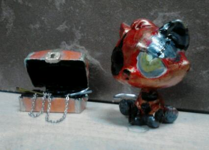 five nights at freddy's gambar Withered Foxy Custom LPS