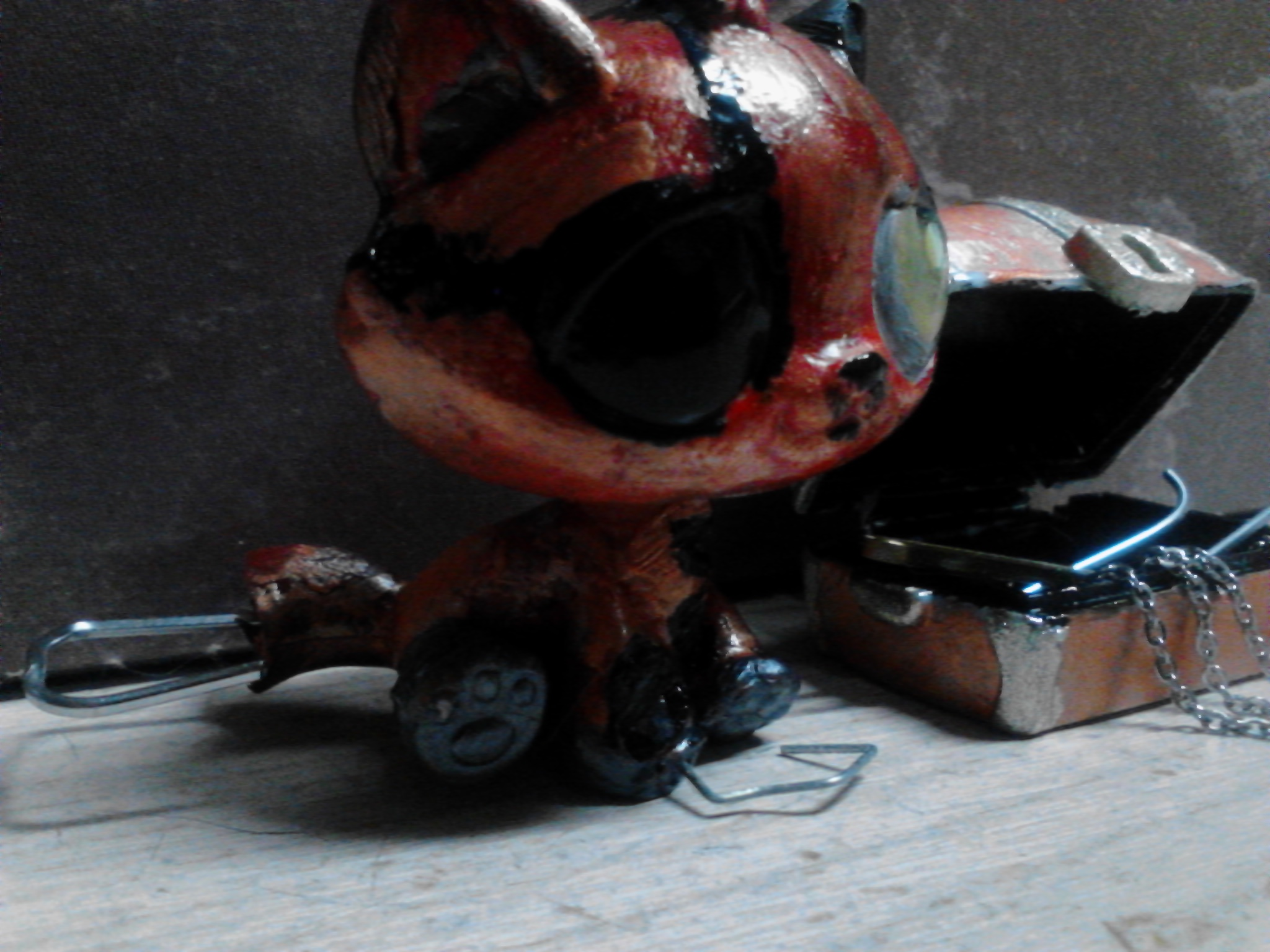 Five Nights at Freddy's immagini Withered Foxy Custom LPS HD