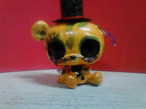 Withered Golden Freddy Custom LPS