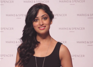 Yami Gautam great cute smile