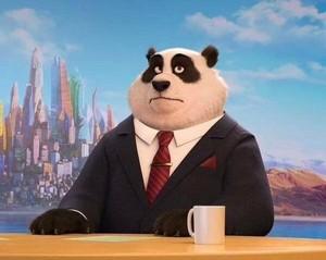 Zootopia (China) Panda Anchorman