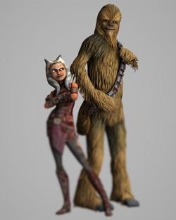 ahsoka and chowie