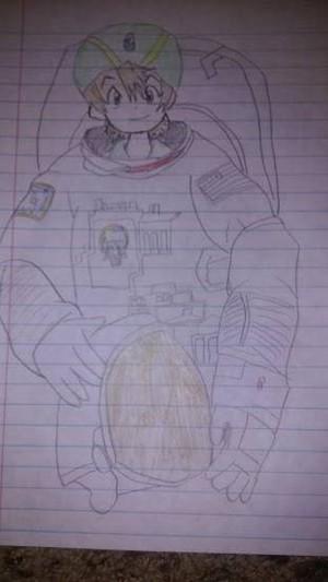 astronaut TK
