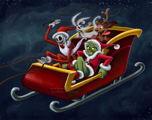 christmas hijackers by bri chan d4iec19
