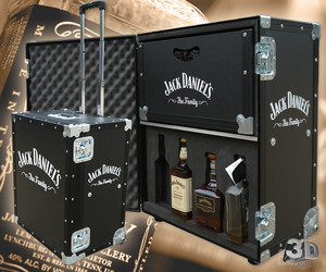 flight case jack daniels I want!!!
