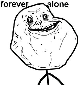 forever alone sad