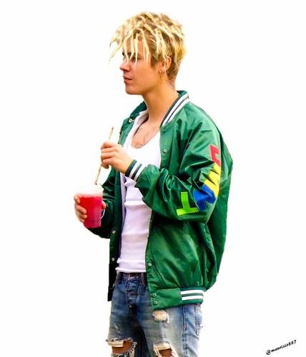 Justin Bieber karatasi la kupamba ukuta possibly containing a workwear entitled justin bieber,2016
