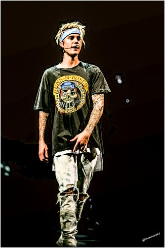 Justin Bieber wallpaper probably containing a bicycling and a golf bag titled justin bieber,Purpose World Tour,2016