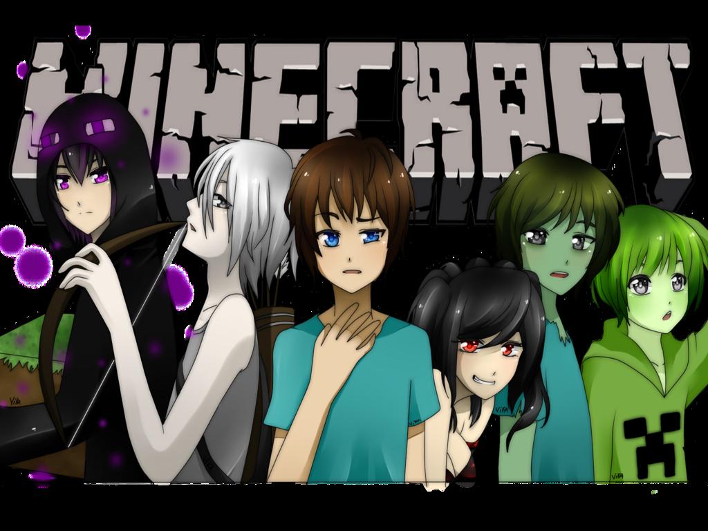 minecraft anime ver