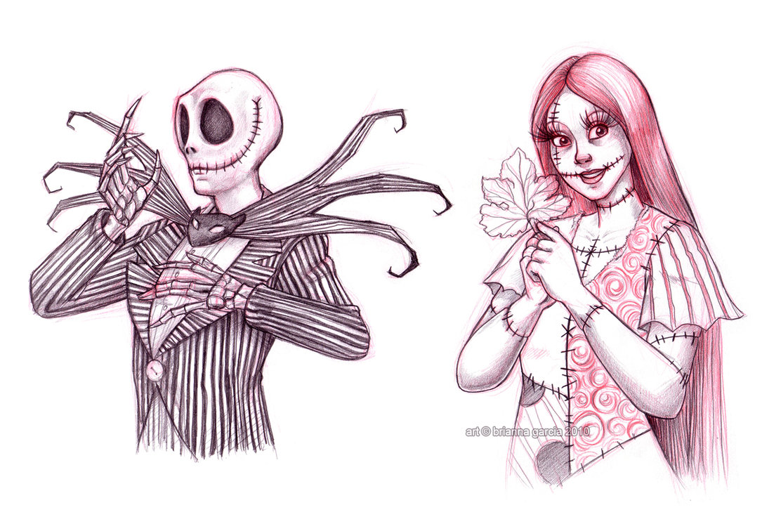Nightmare Before Christmas images more jack n sally by bri chan ...