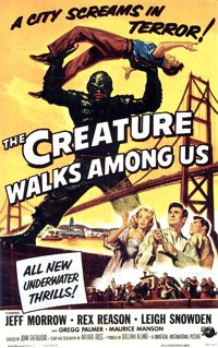 the Creature Walks Among us (Poster)