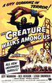 the Creature Walks Among us (Poster) - universal-monsters photo