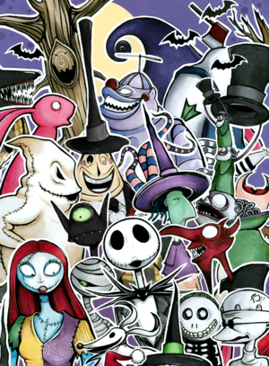 nightmare before Krismas characters i16