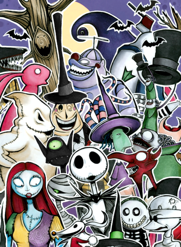 nightmare before christmas characters
