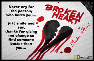 कोट्स about broken hearts