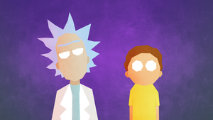 rick and morty by lemmino d9cmshi
