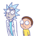 rick and morty द्वारा sonicrocksmysocks d7m63sm