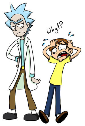rick and morty by ssstawa d7aogup
