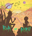 rick and morty sketch द्वारा stilletta d761a9y
