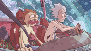 rick and morty fondo de pantalla por ghotire d90pvce