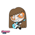 rocknroll baby - the-powerpuff-girls fan art