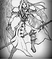 sephiroth FF7 - manga photo