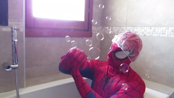 Spiderman Bath Toyheroeschannel Photo 39500017 Fanpop