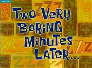 two boring minutos