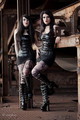 what a pair of gothic ladies - gothic photo