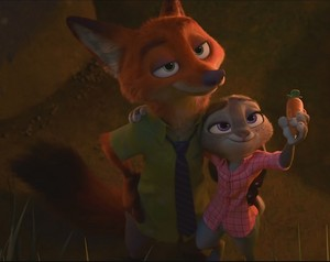 zootopia nickwilde and judy hopps