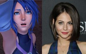 Aqua Voice Actors Willa Holland