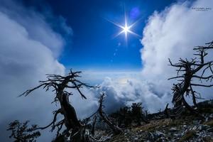 Mali Cikes 2048m. Llogara. Albania Cika Mountain. Vlore. Albania