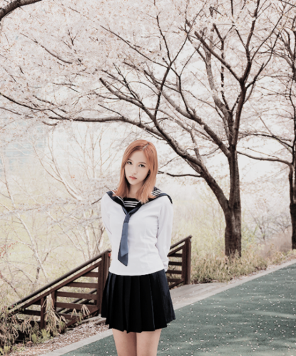 Mina (TWICE) wallpaper possibly with bare legs, a hip boot, and an outerwear titled Mina