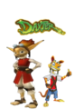 Original Daxter and Orange Lighting Daxter - jak-and-daxter photo