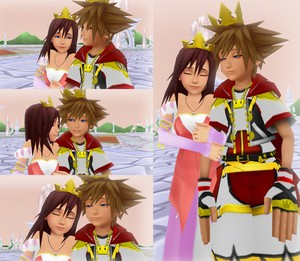 Prince Sora and Princess Kairi Happy Ending .