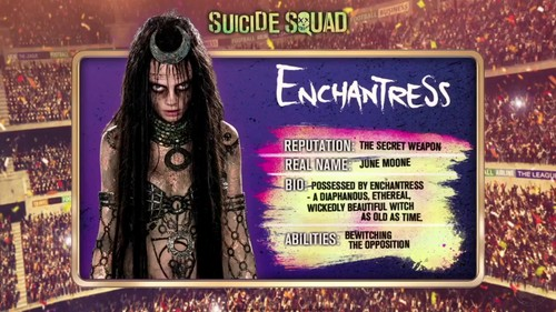 Suicide Squad 바탕화면 called 'Suicide Squad' - Meet 'The Team' ~ Enchantress