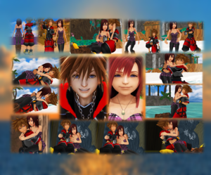 Thank wewe Sora x Kairi Fans. One Sky One Sea