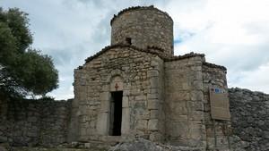 The Church of Marmiroi. 8 century. Orikum. Vlore. アルバニア