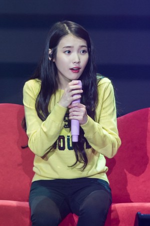 151121 IU 'CHAT-SHIRE' کنسرٹ in Seoul Olympic Hall