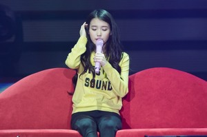 151121 IU 'CHAT-SHIRE' Concert in Seoul Olympic Hall