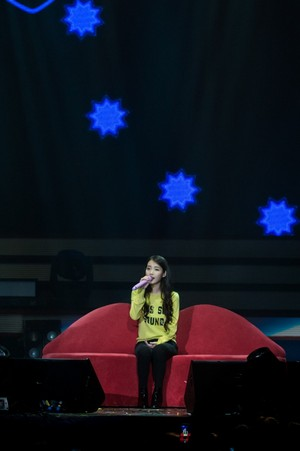 151121 IU 'CHAT-SHIRE' konsiyerto in Seoul Olympic Hall