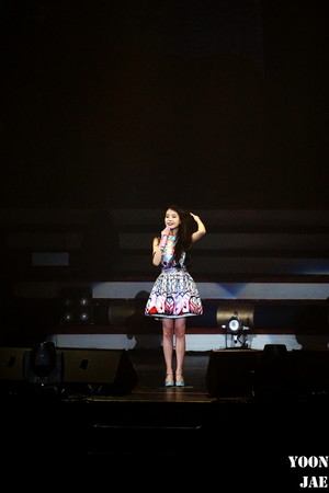 151121 iu 'CHAT-SHIRE' konser in Seoul Olympic Hall
