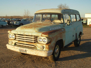 1958 Dodge 100 Town Wagon PowerWagon